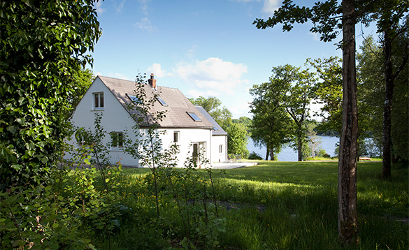 Cottage at Finn Lough with views over Lough Erne/