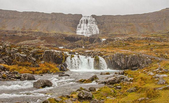 Waterfalls in Iceland/