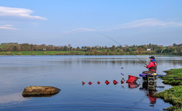 scenic lake fishing on the Erne System/
