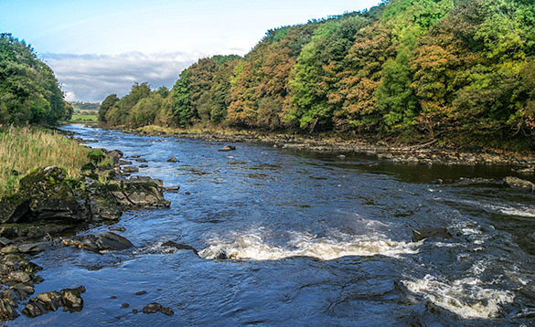 Upper River Mourne for Salmon fishing on the fly/