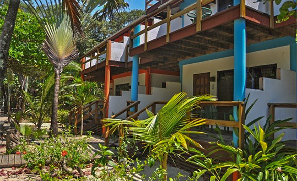 Apartments at Roberts Grove Beach Resort in Belize/