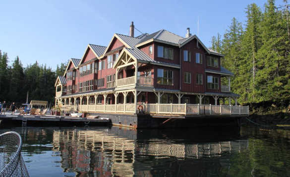 King Pacific Lodge in British Columbia/