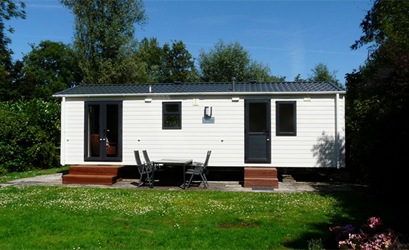 Comfort chalet at De Visotter holiday park/