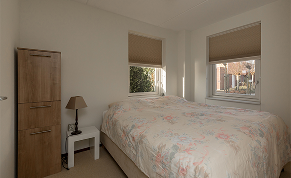 Bedroom in a villa at Nautic Rentals, Oude Tonge/