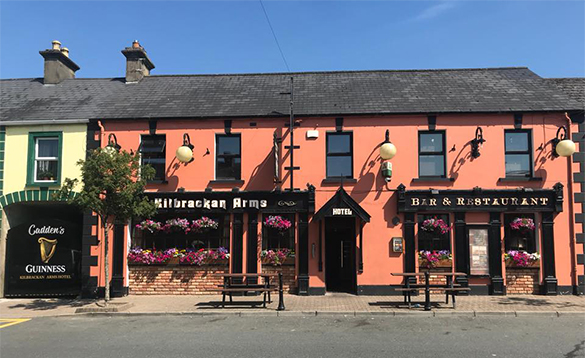 Kilbrackan Arms Irish pub in Carrigallen/
