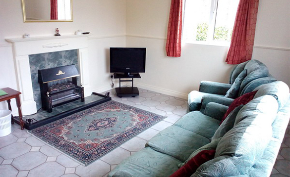 Lounge in Alder Cottages Heron View self-catering cottage/