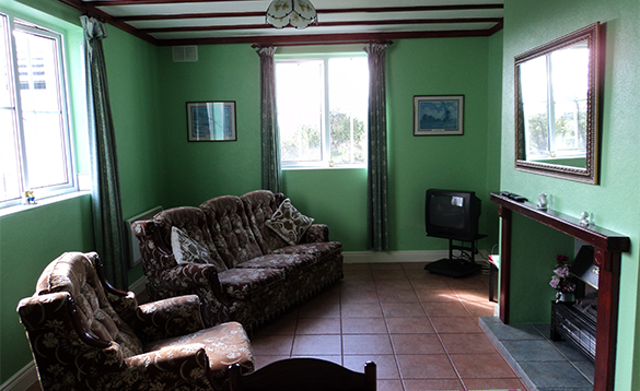 Lounge in the Warren self-catering apartment at Alder Cottages, Cootehill/