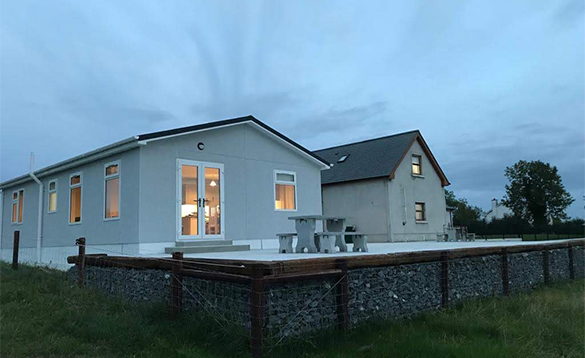 Carafin Lodge self-catering property in Ireland/