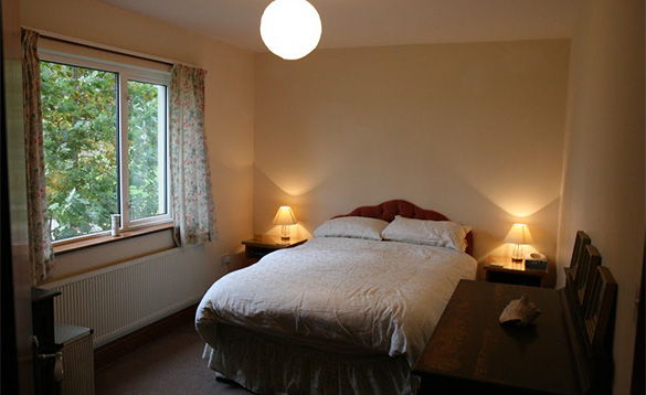 Double bedroom at Magee Lodge/