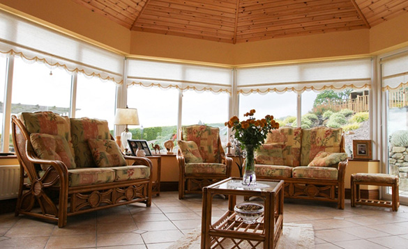 Lounge at the Arches Farmhouse in Co Cavan/