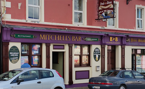 Mitchell's Bar in Carrigallen/