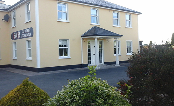 Entrance to Connolly's self-catering property at Castleblayney/