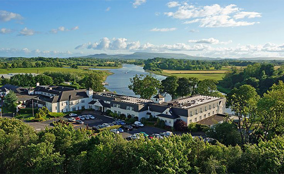 Killyhevlin Hotel on the shores of Lough Erne/