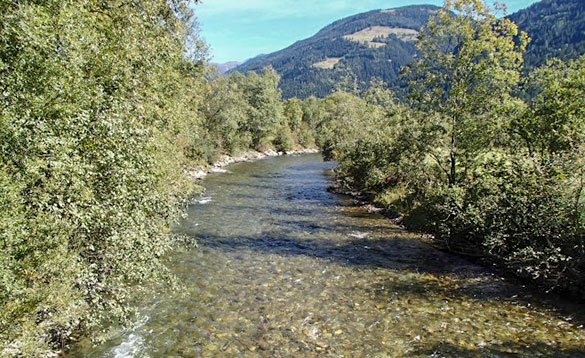 small river in Moll Valley/