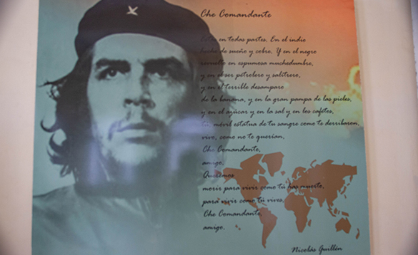 Painting of Che Guevara/
