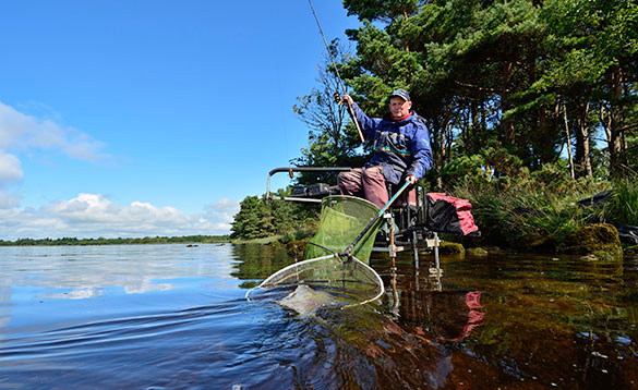 Lough Derg provides great sport for an angler fishing the feeder/