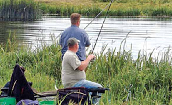 Scenic waters for coarse fishing in Ireland/
