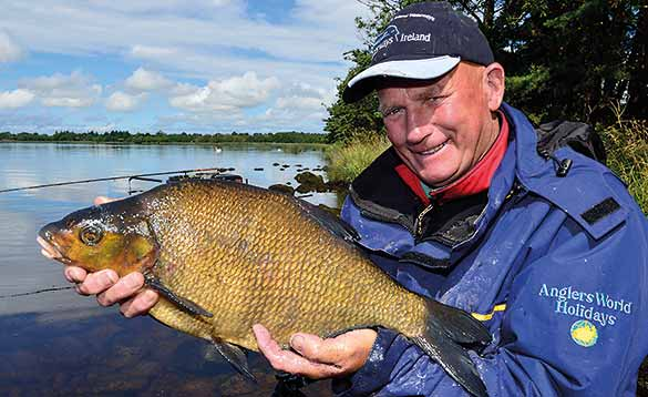 Big bream caught in Irish Lake/