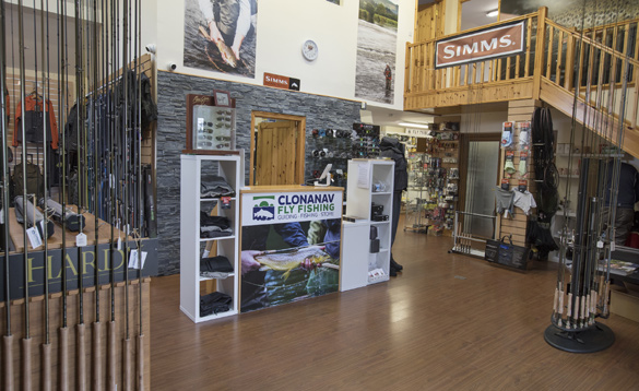 Fishing tackle shop/
