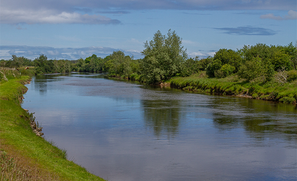 River Moy in Co Mayo/