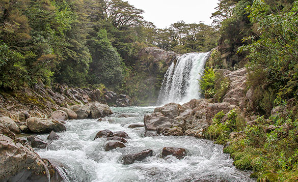 Tongaririro National Park Waterfall/